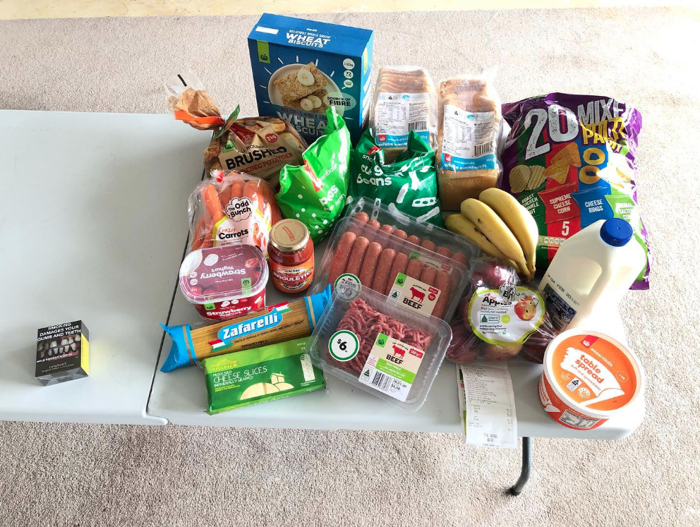'Beyond crazy': Woman's $60 grocery experiment leaves Aussies stunned