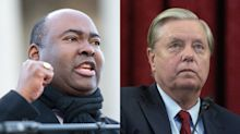 Jaime Harrison says he's going to 'close the chapter' on 'relic' Lindsey Graham