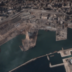 Seattle's BlackSky and other satellite imaging ventures bear witness to devastation in Beirut