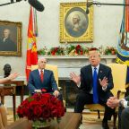 President Trump and Top Congressional Democrats Clash on Border Security