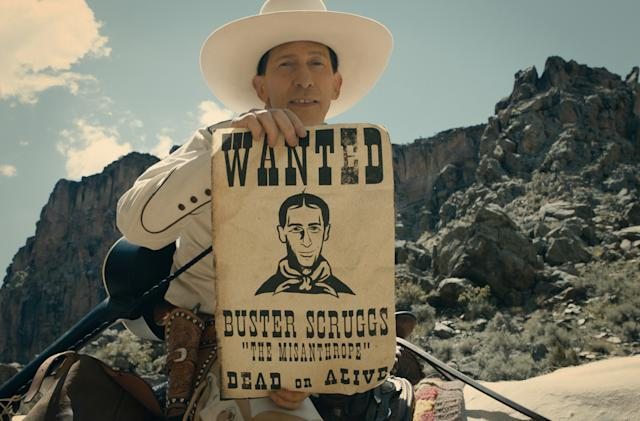 Netflix is bringing the latest Coen brothers movie to theaters