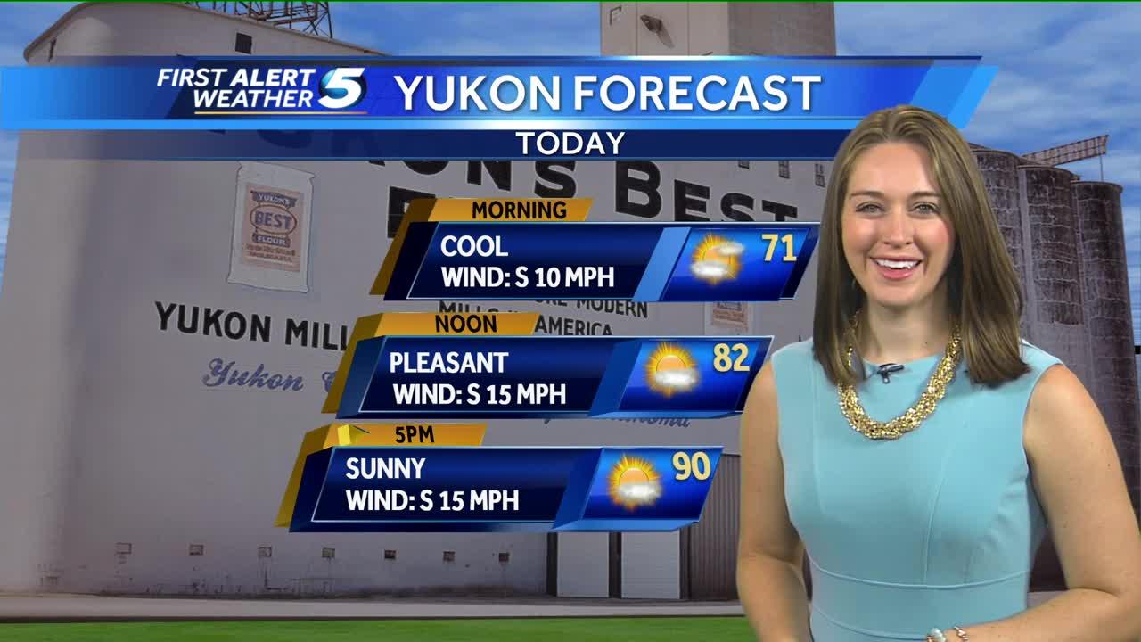 Forecast: Sunny Sunday ahead