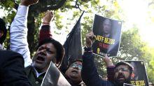 Inde: manifestations anti-Amazon lors d'une visite de Jeff Bezos