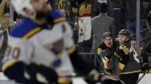 Blues face a confident Vegas team in second round-robin