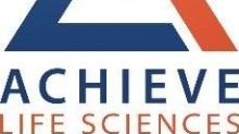 Achieve Life Sciences Announces Presentation of Data on Smoker and E-Cigarette User Attitudes and Perceptions on Quitting at the Society for Research on Nicotine & Tobacco (SRNT) Annual Meeting