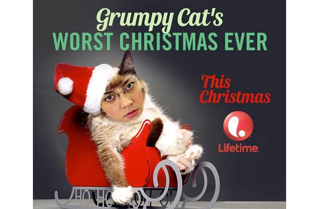 Aubrey Plaza will voice Grumpy Cat in Lifetime's holiday movie