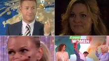 14 Live TV Gaffes That We'll Never Tire Of Watching, Including Giggling Fits, Swearing And Comedy Falls
