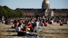 'At last we're free': Parisians head for the park as lockdown eases