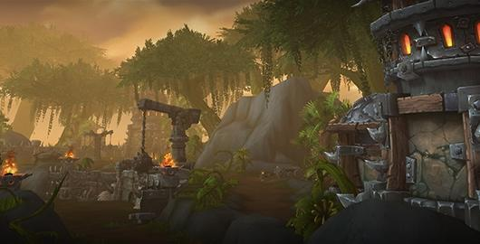 World of Warcraft previews the Tanaan Jungle