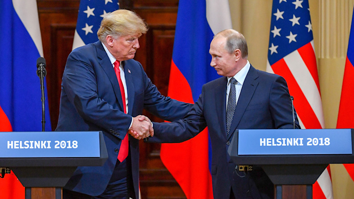 Unsettling photo of Trump, Putin on Time cover