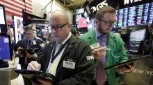 Stock indexes end mostly higher, but Facebook sinks again