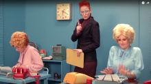 Alice Bag, Shirley Manson, Kathleen Hanna, and Allison Wolfe spoof '9 to 5' in feminist '77' video