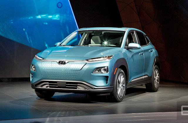 Hyundai's Kona Electric will have an estimated 250-mile range