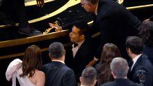 Autsch! Rami Malek stürzt nach Oscar-Vergabe von der Bühne