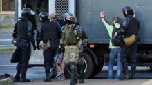 Biélorussie : nouvelles manifestations contre la réélection du président Alexandre Loukachenko à Minsk, des dizaines d'interpellations