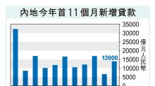 內地11月新貸1.39萬億勝預期