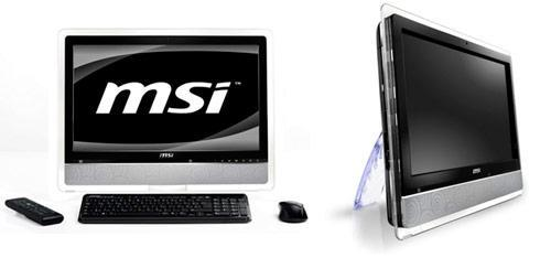 MSI follows fate's whispers, intros 24-inch Wind Top AE2420 3D