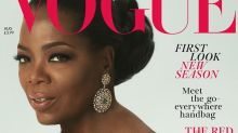 Oprah Winfrey models for British Vogue aged 64, talks royal wedding and potential presidential run