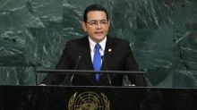 Prosecutors again attempt to strip Guatemala's president of immunity