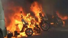 Paris police fire tear gas at demonstrators