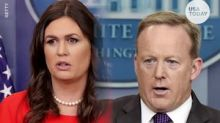 White House Press Secretary Stephanie Grisham bruised amid scuffle between reporters, North Korean guards