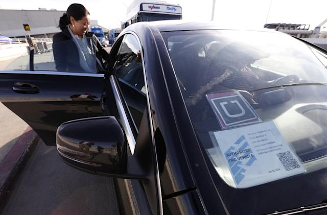 Uber drivers partner with the Teamsters Union in California