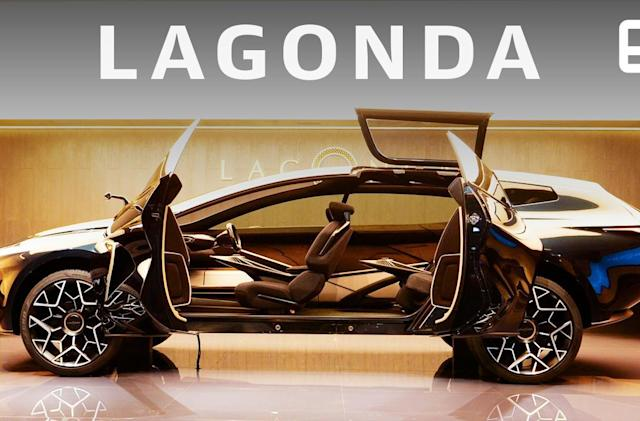 Aston Martin's Lagonda All-Terrain EV suspends its key using electromagnets