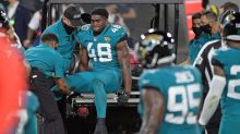 Jaguars LB Jacobs ruled out with knee injury