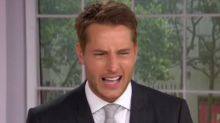 'This Is Us' Star Justin Hartley Embarrassed by Old Acting Footage
