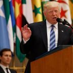 Trump urges Mideast nations to drive out 'Islamic extremism' in Saudi Arabia speech