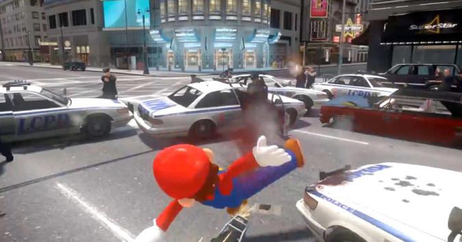 Autsch: Grand Theft Super Mario, Knochenbrecher-Edition
