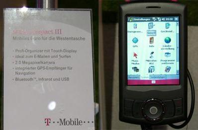 "HTC Artemis becomes ""MDA compact III"" for T-Mobile Germany"