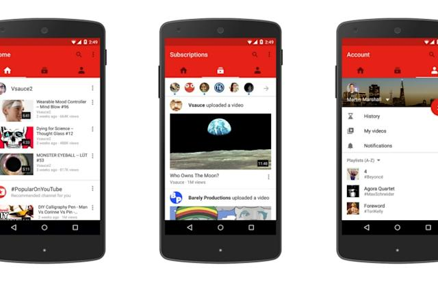 YouTube has a new mobile app now, 3D VR video coming soon