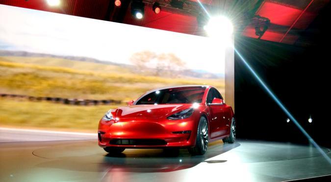 Cruising around in the Tesla Model 3