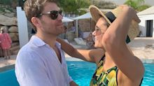 Paul Wesley Jokingly Pushes Nina Dobrev Into a Pool After She Said They 'Despised Each Other'