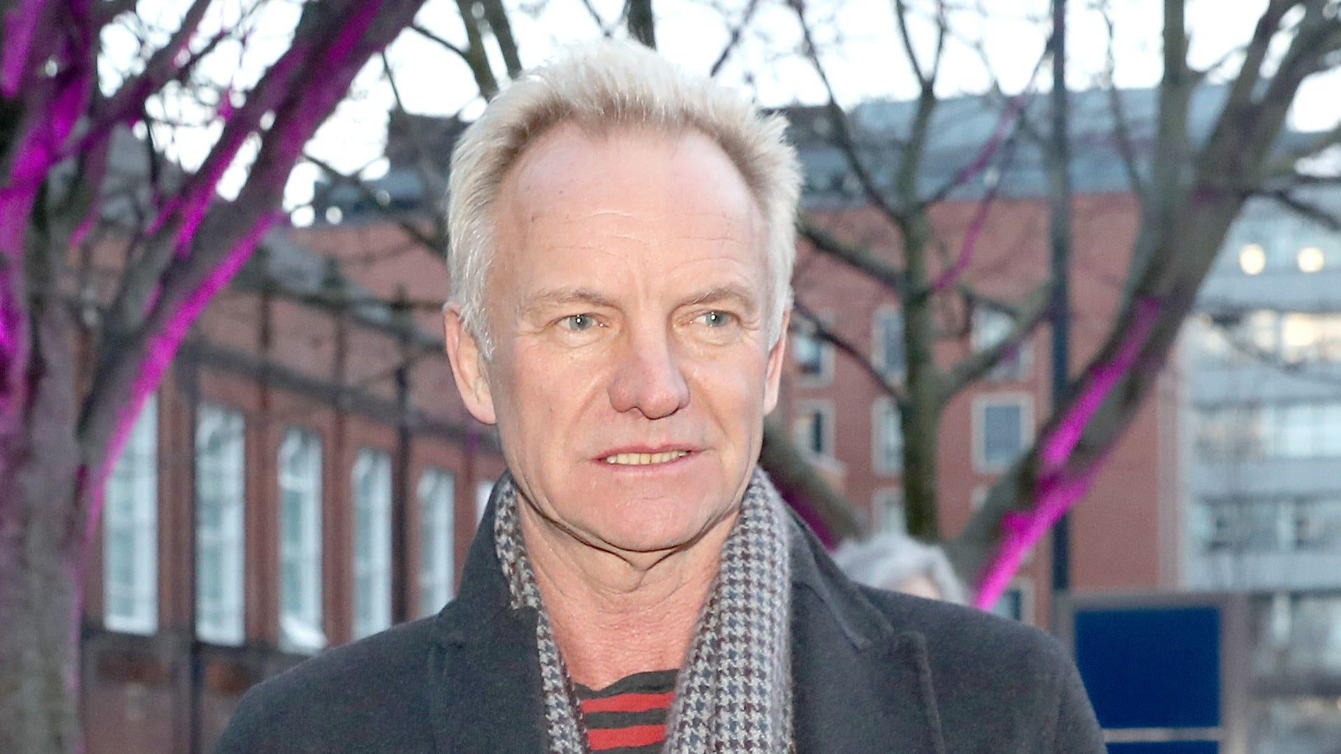 Sting pays tribute to ex-pupil with 'heart of solid gold'