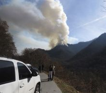 Smoky Mountains National Park Threatened By Fires