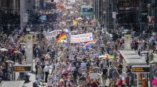 March in Berlin to protest virus curbs