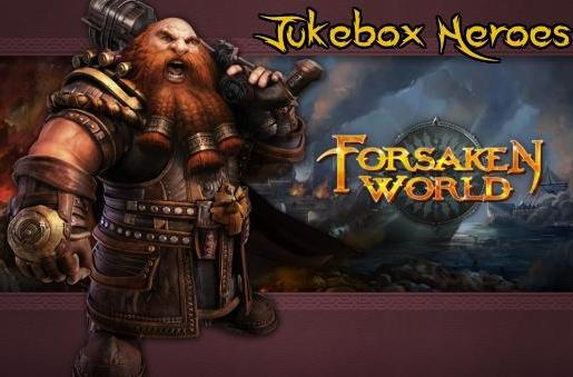 Jukebox Heroes: Forsaken World's soundtrack
