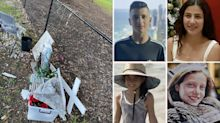 'Disgusting': Vandals tear down memorial for four children