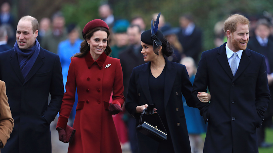 Harry and William to split royal household 'within weeks'