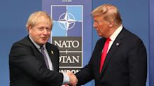 Boris Johnson: Donald Trump says Americans are 'praying' for PM's recovery