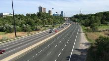 Don Valley Parkway closed for spring maintenance all weekend