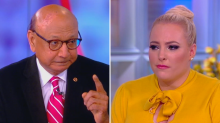 Meghan McCain and Khizr Khan get choked up while bonding over Trump's attacks on their families