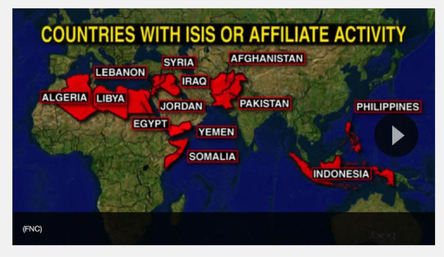 How ISIS Is Spreading Terror Far Beyond Iraq and Syria