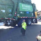 Boy, 6, With Cystic Fibrosis Lives Dream as Garbage Man for a Day