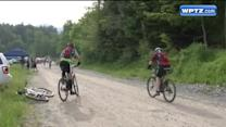 Cyclists climb Whiteface Mountain in hopes of qualifying for Leadville Trail 100K