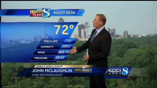 Latest KCCI video forecast