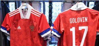 Rusia se niega a utilizar sus nuevas camisetas Adidas
