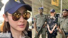 赴尼日利亞拍攝要軍警荷槍保護 陳貝兒:彷佛一出街可能遇到意外